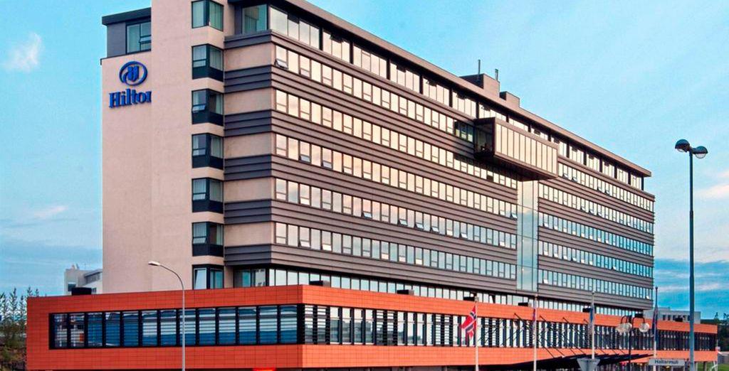 El Hilton Nordica 4* será tu hotel