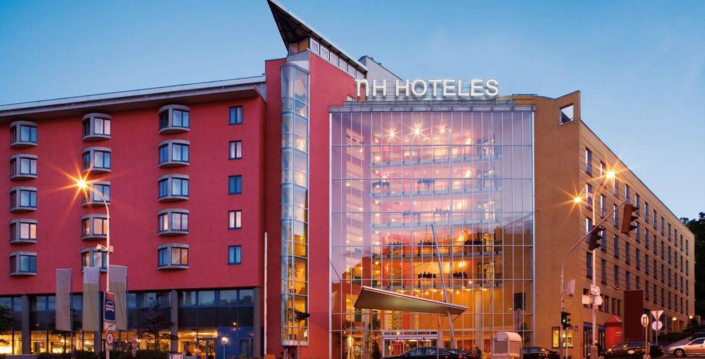 El hotel NH Prague City 4* es una de las opciones de alojamiento en Praga
