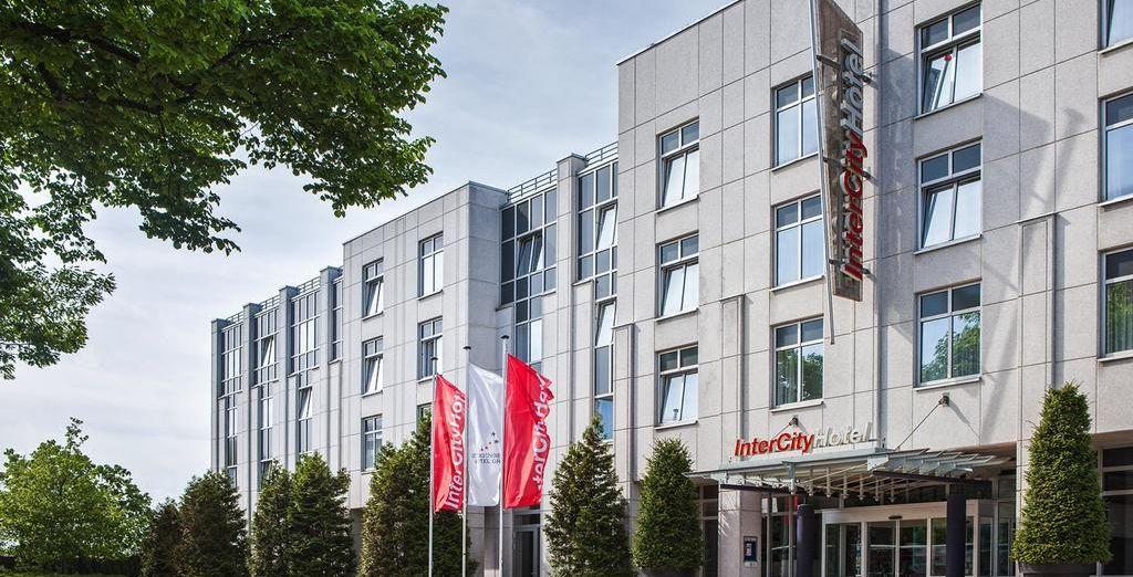 Finaliza tu recorrido en el Intercity hotel Rostock