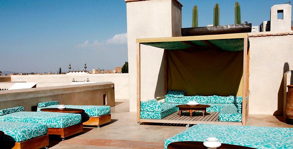 Autentico estilo arquitectónico árabe