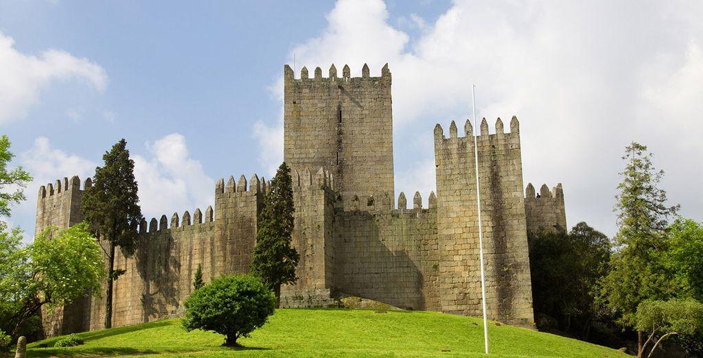 Visite su emblemático castillo