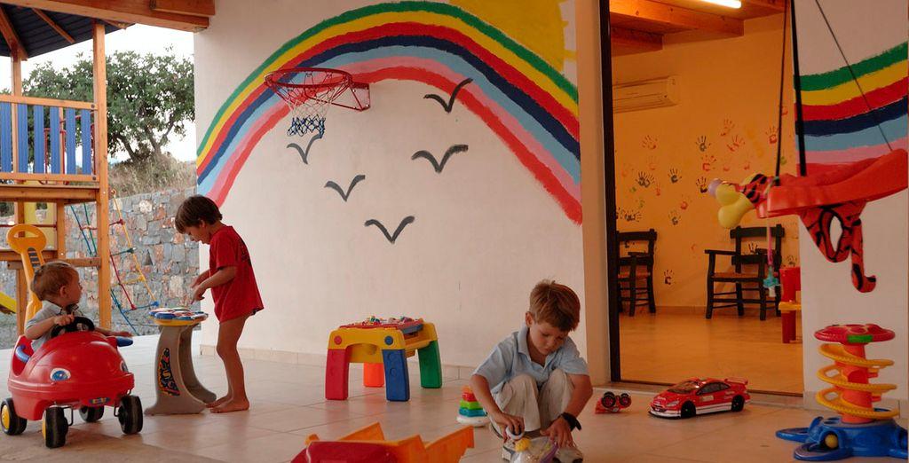 Un hotel perfecto para los niños