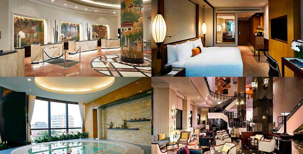 Puedes escoger la categoría Deluxe y alojarte en Hotel Melia 5*