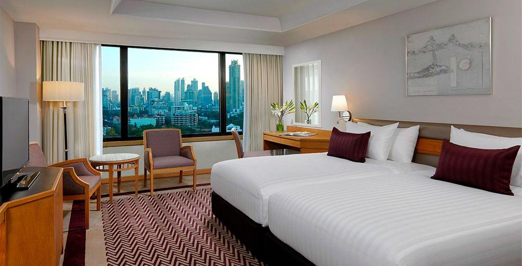 Tu habitación Premier en Hotel AVANI Atrium 5*