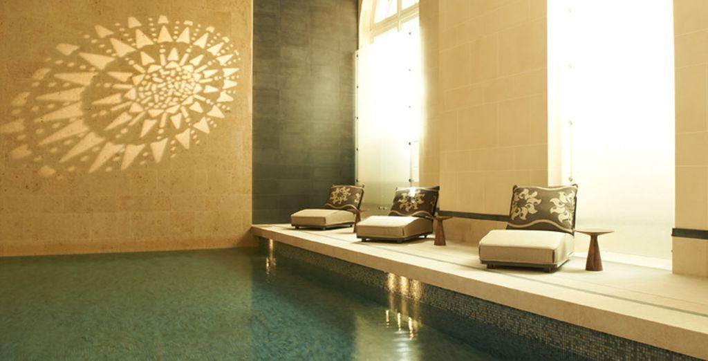 Rélajate con el acceso al Spa que te incluimos con tu estancia en la habitación Executive con terraza
