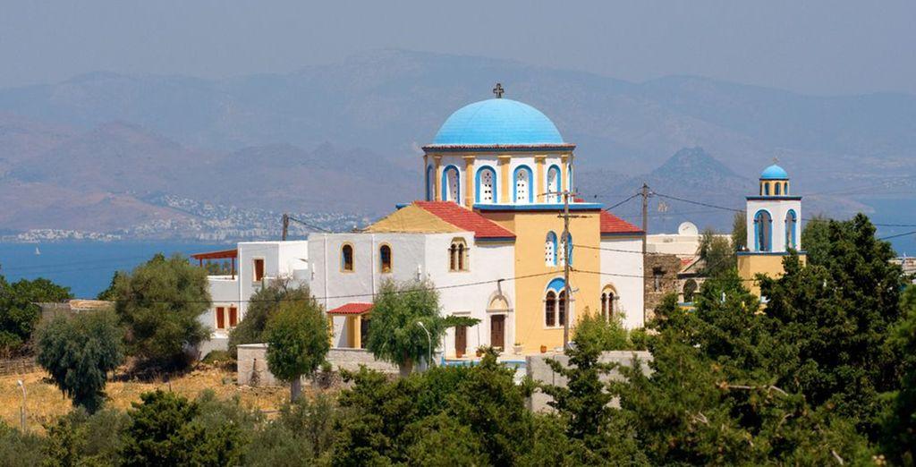 Maravíllese con la arquitectura griega