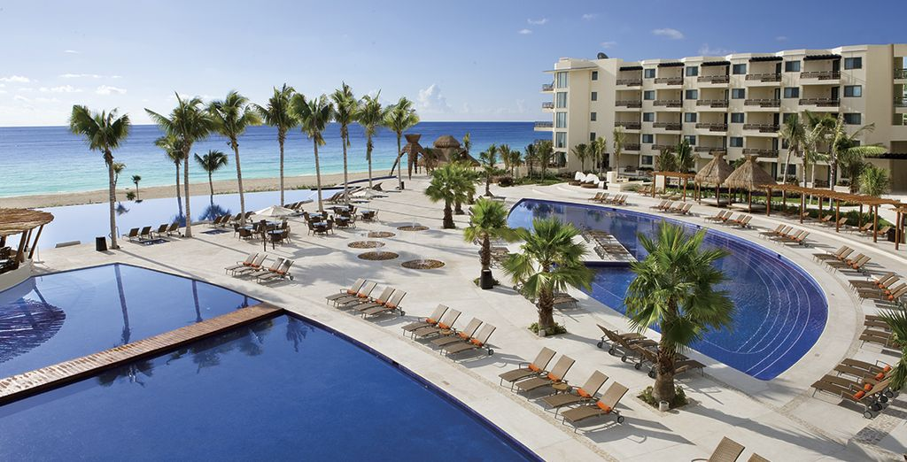 Bienvenido al paraíso de Dreams Riviera Cancún Resort & Spa