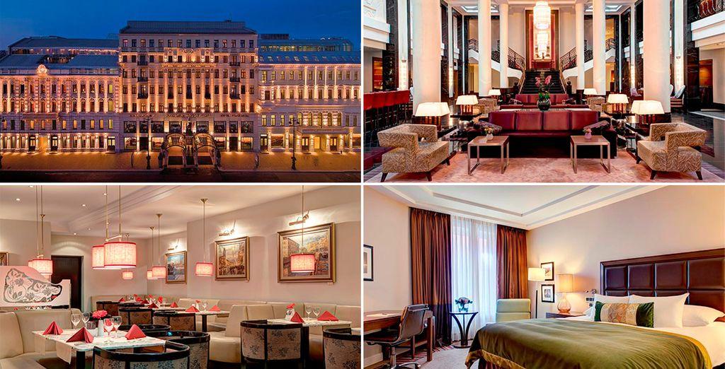 Corinthia Hotel 5* es otra de tus posibles alojamientos