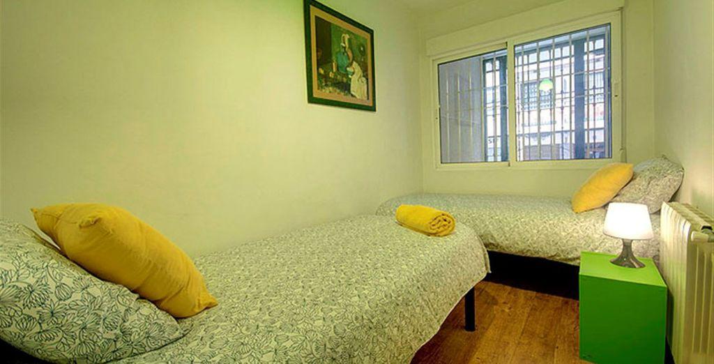 Apartamento 4: habitaciones para toda la familia o para compartir con amigos