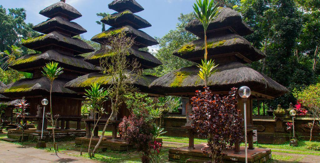Pura Luhur Batukaru, uno de los seis templos más importantes