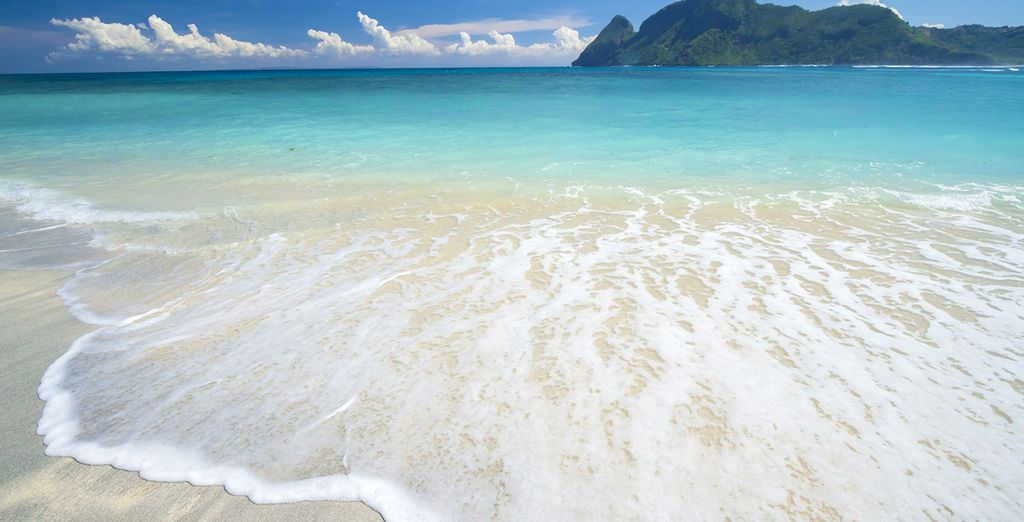 Quilométricas playas de agua cristalina y arena blanca