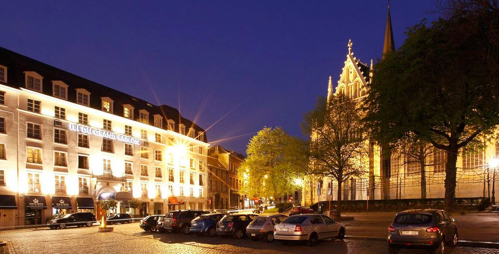 Impresionante hotel en Bélgica