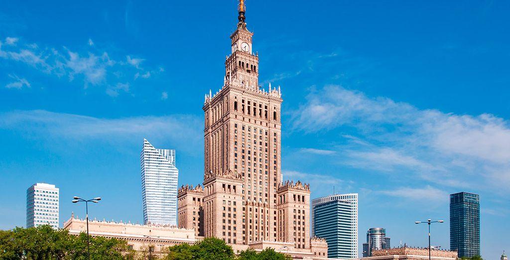 Regresarás a Varsovia, donde pasarás tu último día antes de regresar