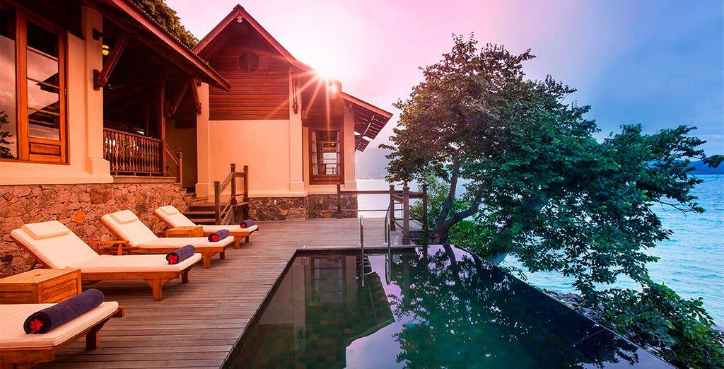 Podrá explorar y conocer cada rincón de Seychelles en este increíble Hotel