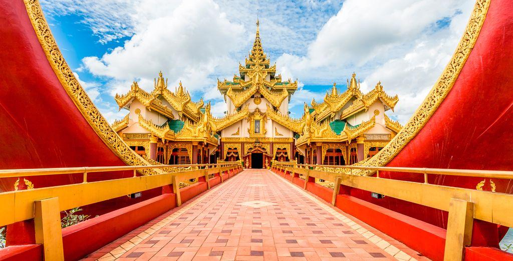 Descubra la ciudad de Yangon