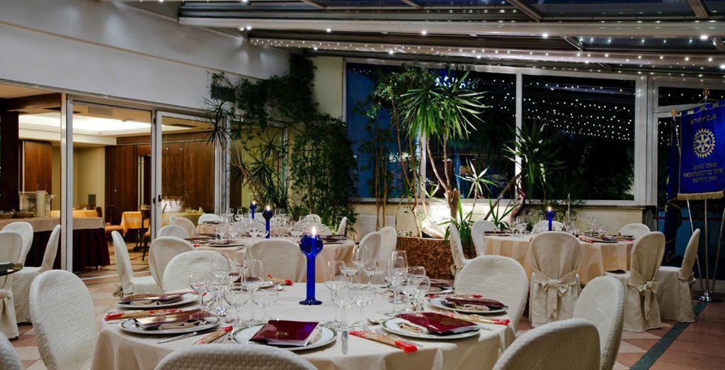 ... de cocina italiana con especialidades de la región del Véneto y postres exquisitos