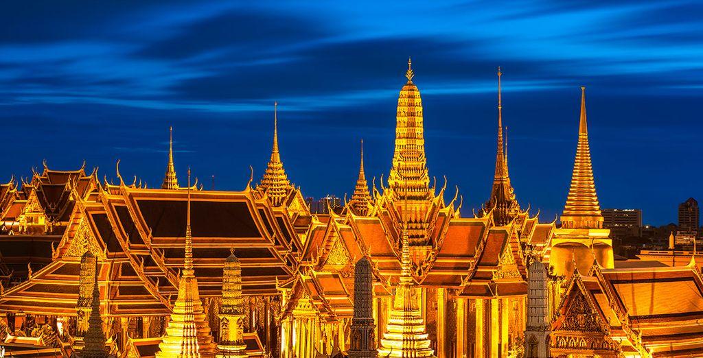 Tu primera parada será en Bangkok