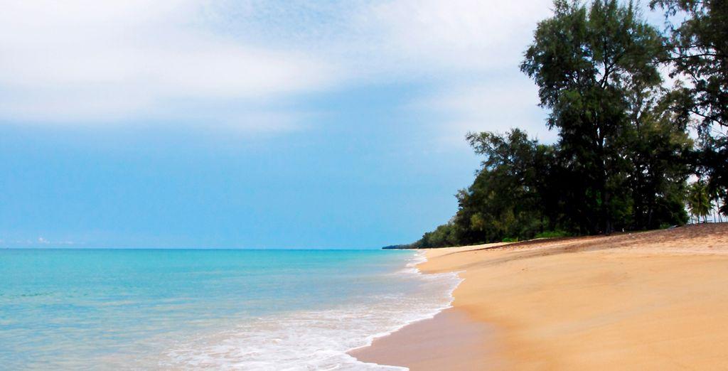 La segunda parte de tu viaje tendrá lugar en las idílicas playas tailandesas