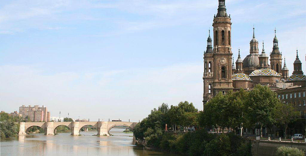 El Ebro es uno de los principales símbolos y señas de identidad de la capital aragonesa