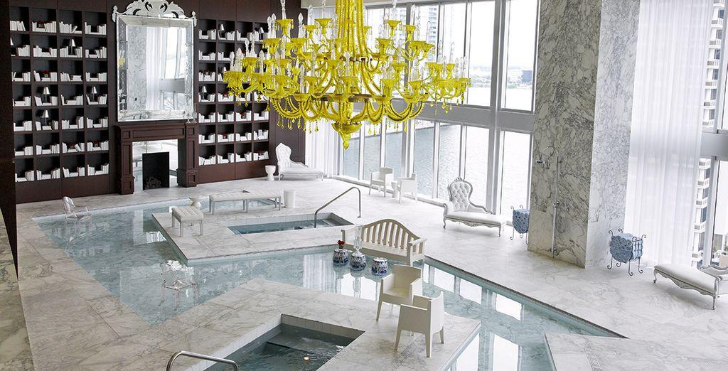 El Viceroy Miami cuenta con un spa que incluye un salón de agua