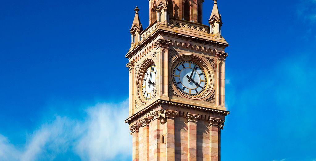 La Torre Príncipe Alberto, uno de los emblemas de la ciudad norirlandesa