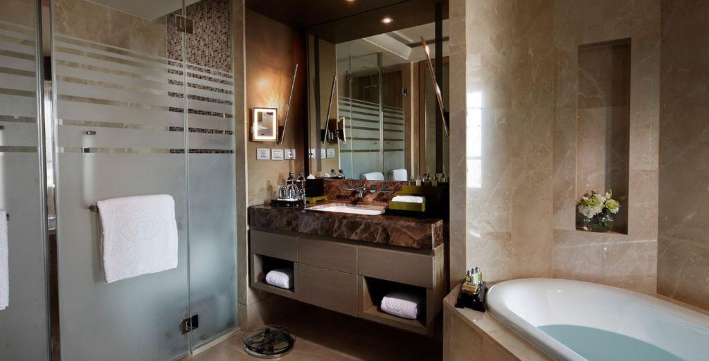 Amplios baños para su estancia
