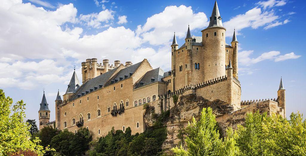 Los mejores Paradores para un viaje a Segovia
