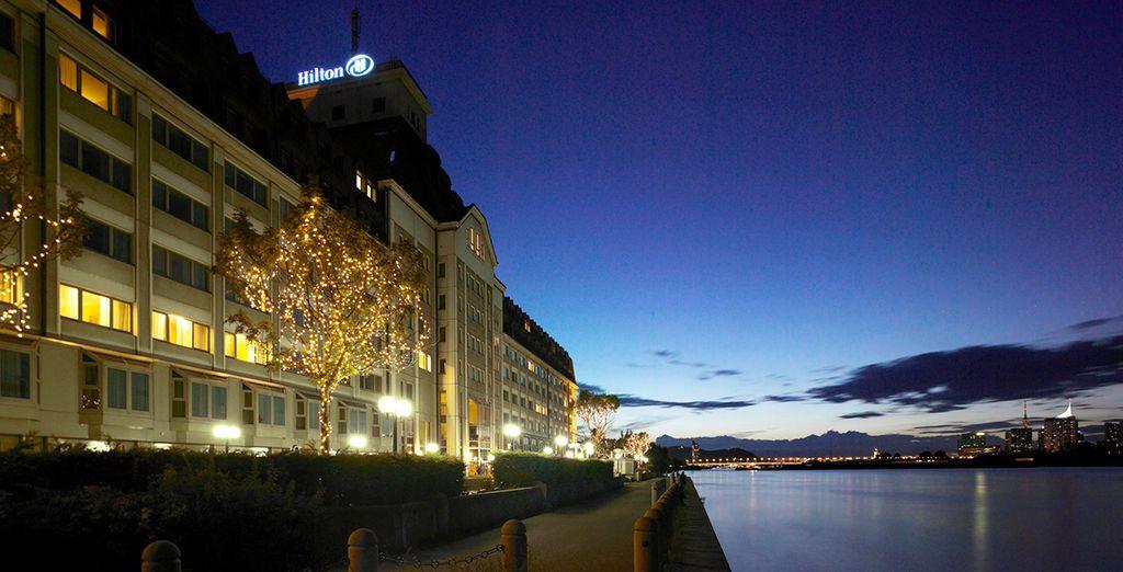 Bienvenido al Hilton Danube Waterfront 4 estrellas