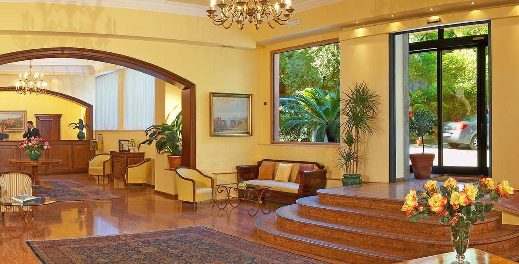 Villa Diodoro te invita a pasar hacia la elegancia y la comodidad