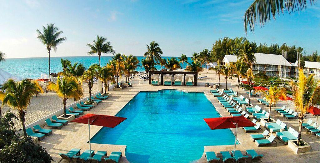 Un resort exclusivo junto al mar