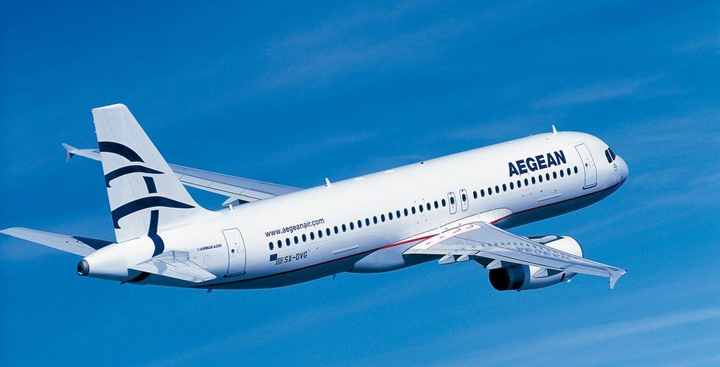 En Voyage Privé trabajamos con Aegean Airlines