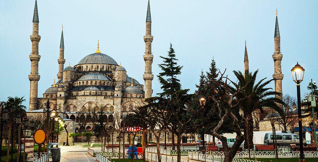 Bienvenido a Estambul