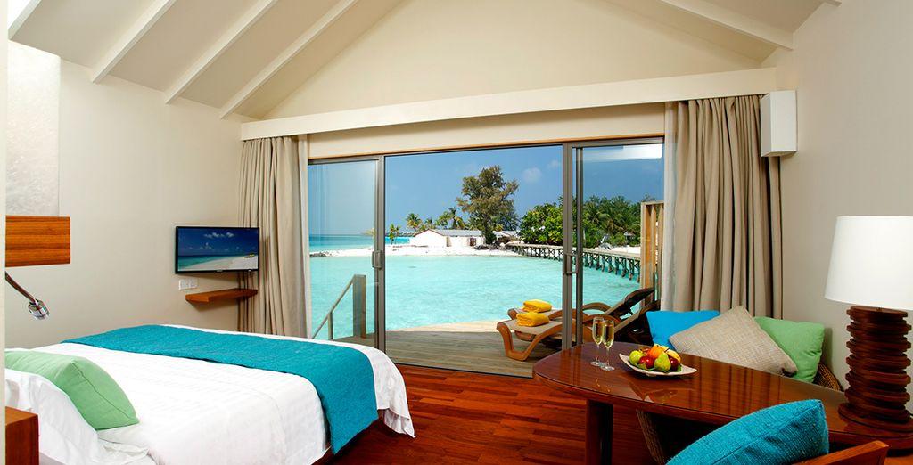 Bienvenido a tu habitación Ocean Front Beach Villa
