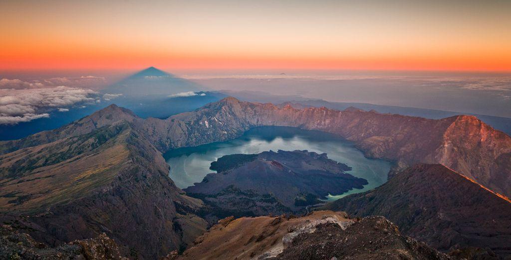 Conozca la geografía de Lombok
