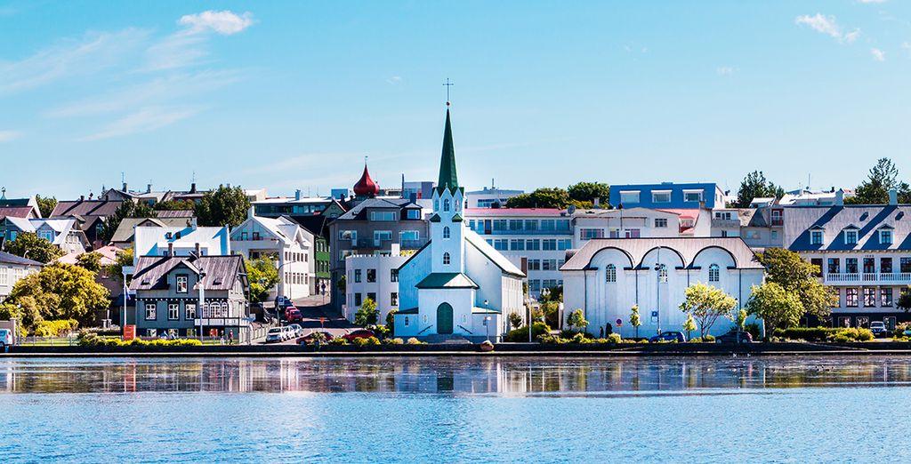 Llegaremos al aeropuerto de Reikiavik