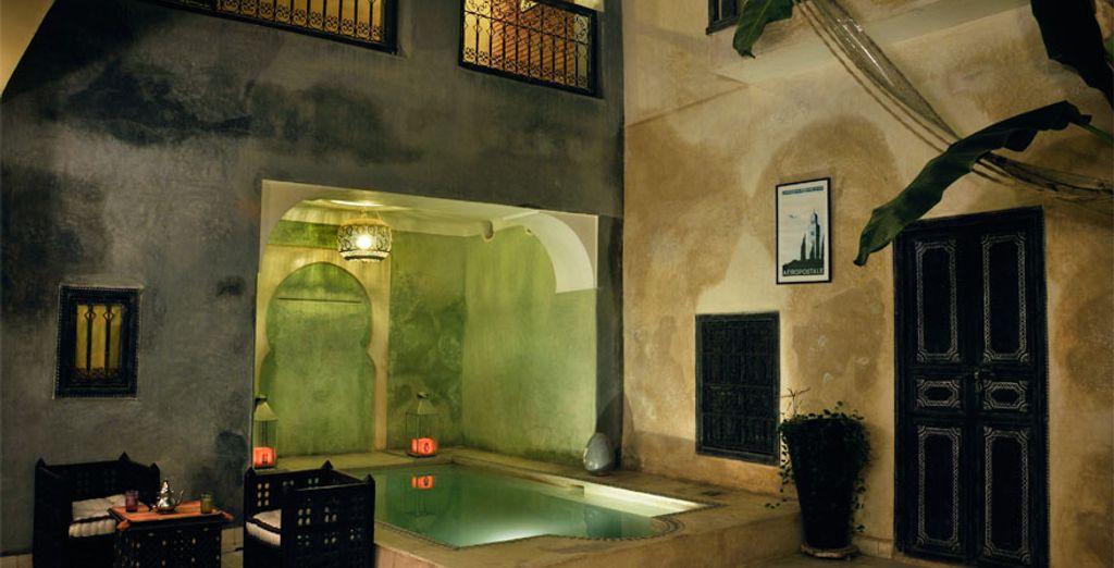 Las noches se cubren de magia en Marrakech