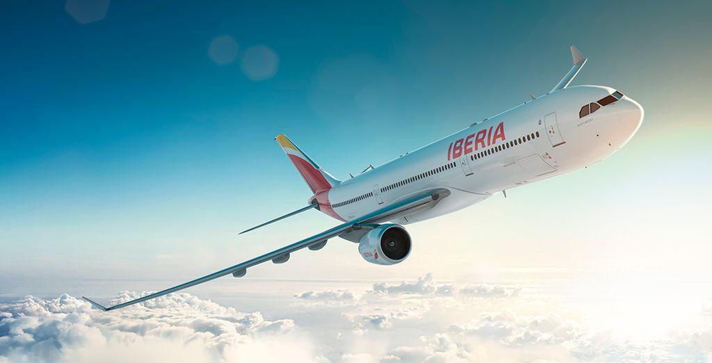 Iberia, aerolínea preferente en Voyage Privé