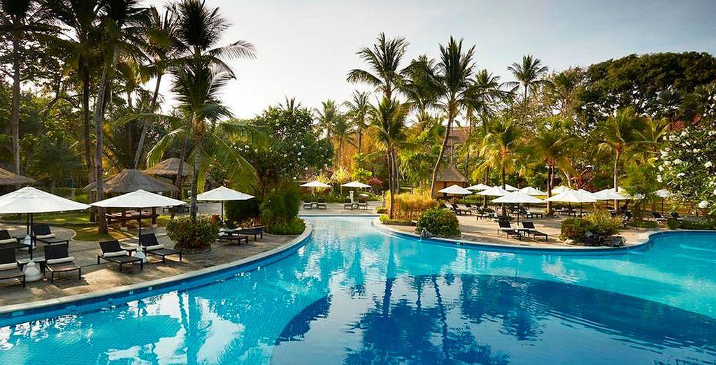 Bienvenido al Melia Bali 5*, tu hotel en la playa de Nusa Dua