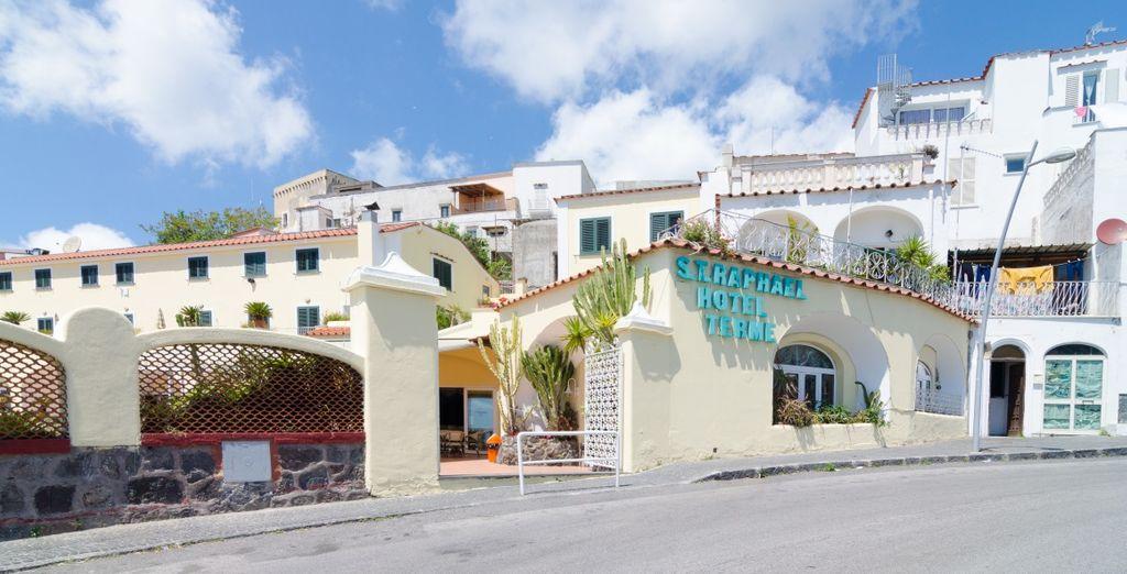 Alójate en el Hotel Terme Saint Raphael 4 *