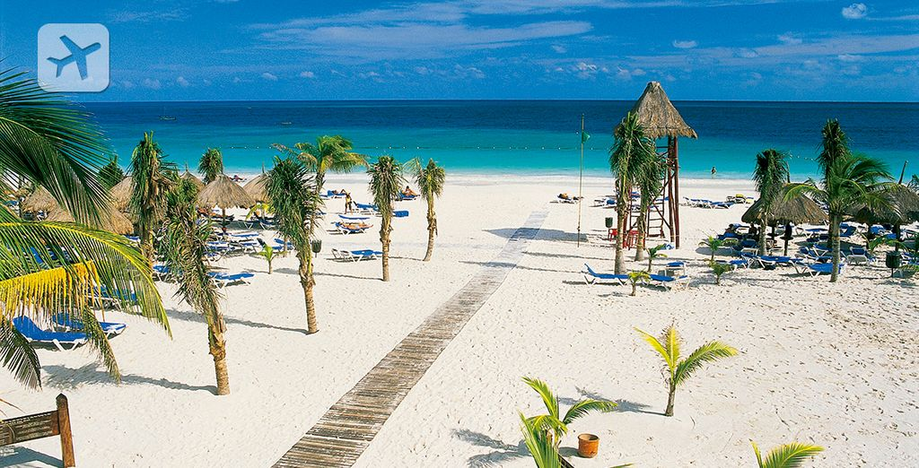 Pasee por las playas paradisíacas