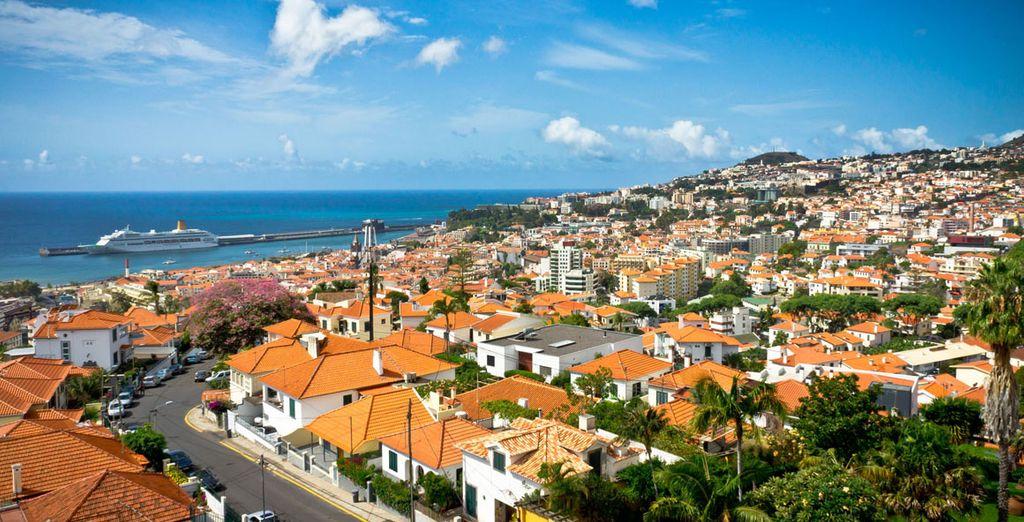 Descubra Funchal, la capital de la isla