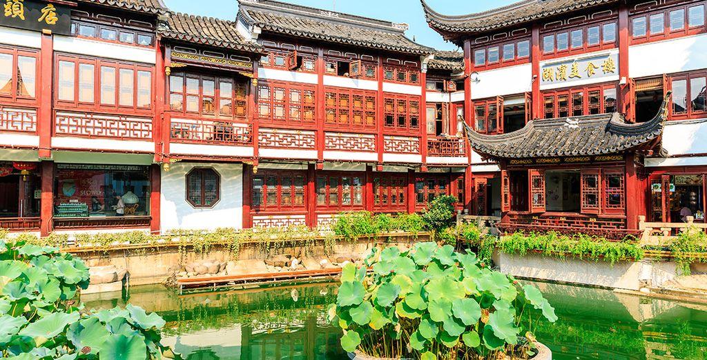 El Jardín de Yuyuan te encantará