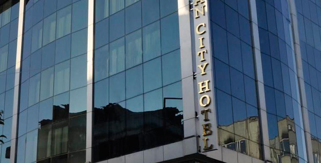El Hotel Ottoman City es la mejor opción para su estancia en la ciudad