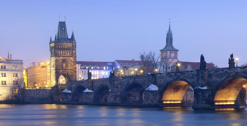 Praga le cautivará con su encanto