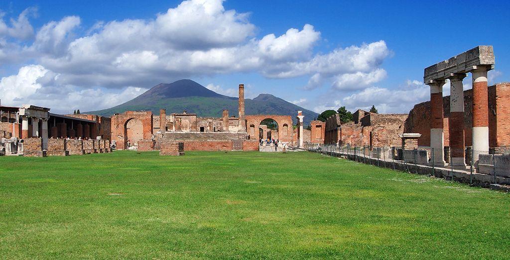 Ainsi que le site mondialement connu de Pompéi