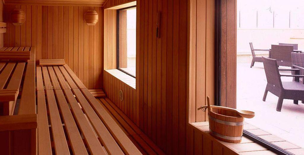 Profitez également du sauna