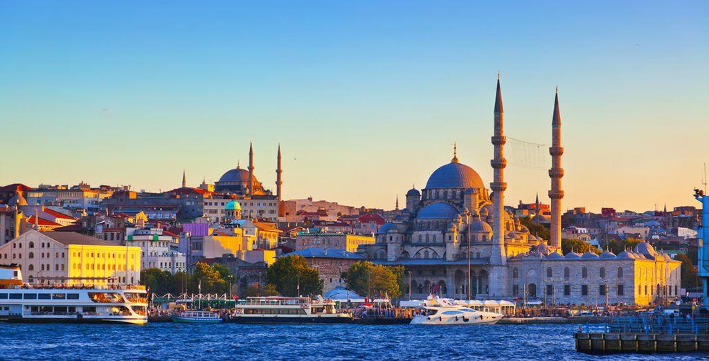 Ou une excursion proposée en option pour découvrir les splendeurs d'Istanbul...