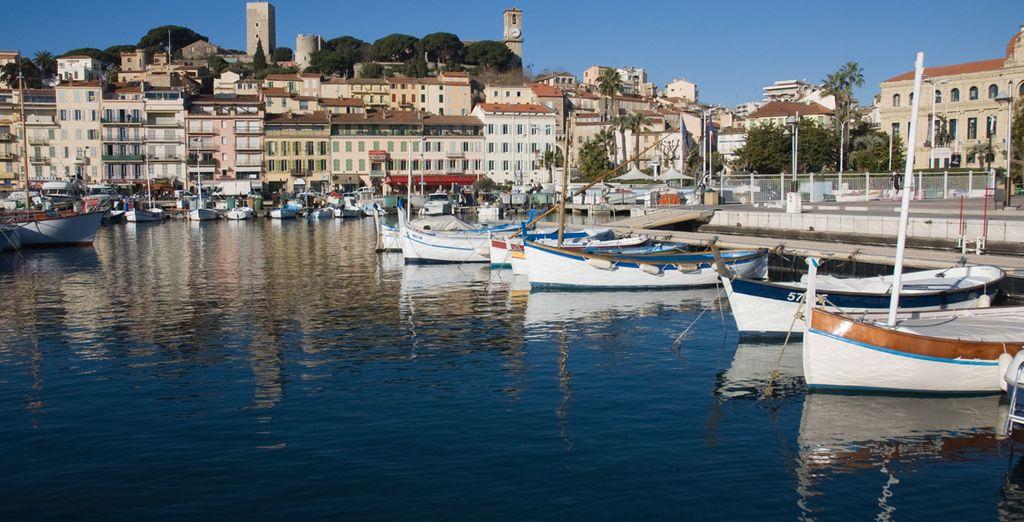 à Cannes et son vieux port...