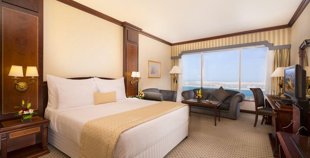 Vous rêvez de luxe et de dépaysement ? Direction Abu Dhabi !  - Hôtel Millennium Corniche 5* Abu Dhabi