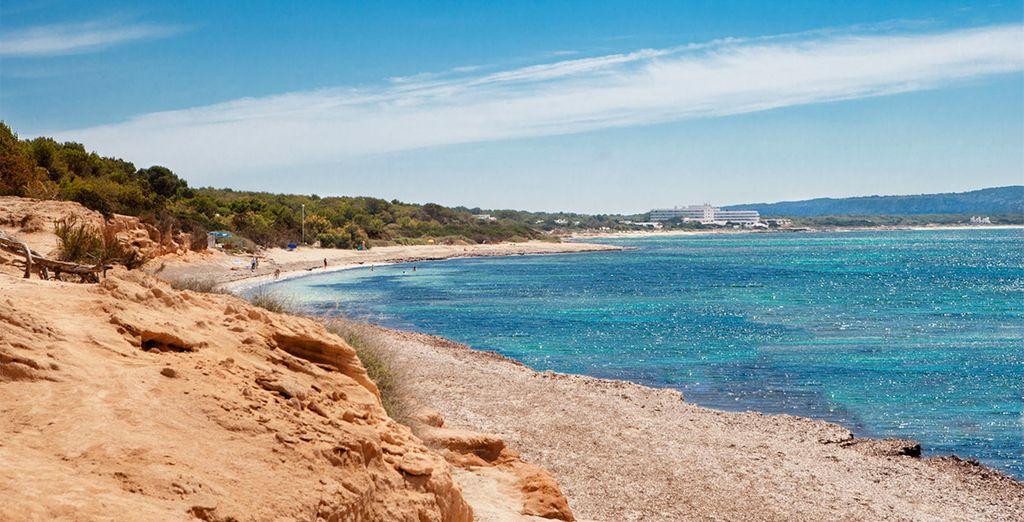 Sur l'île de Formentera